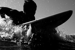 Surfing Cocoa Beach FL (Kevin N. Murphy) Tags: sea beach wet water swim canon 50mm surf waves surfer wave surfing surfboard waterproof cocoabeach 40d wps10 dicapacwps10
