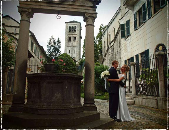 St. Julius Island Wedding, Lake Orta