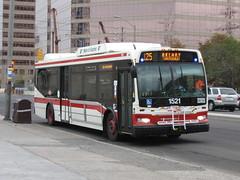 TTC 1521 (F. Poon) Tags: new toronto ontario canada bus ttc transit orion hybrid vii orionvii