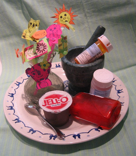 Tonsillectomy Spread - by Jane (me!)
