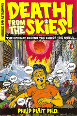 Death from the Skies! paperback cover