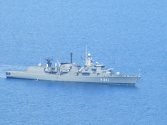 Greek Navy Ship Malonas Bay - Rhodes