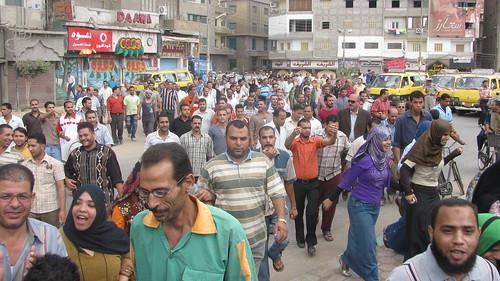 مظاهرة عمال شركة ابوالسباع by you.