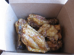 Poleng in San Francisco - Siracha chicken wings