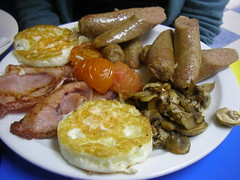 All day Full English - Manchester Northern Quarter (maria dixon) Tags: food cake manchester vegetarian fullenglishbreakfast