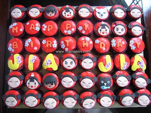 Cupcakes - Pucca set