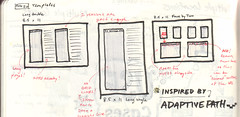 Sketches for wireframe templates (Jason Robb) Tags: paper design sketch sketches ux templates wireframes