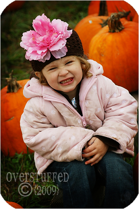 Little Miss Pumpkin Face