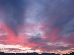 indigo (AlidaSerious) Tags: pink sunset sky nature clouds tramonto indigo laformadellenuvole