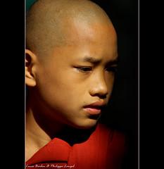 Young Monk near U Bein Bridge (Lucie et Philippe) Tags: portrait burma bein monk myanmar philippe amarapura birmanie langel platinumphoto impressedbeauty dragondaggerphoto dragondaggeraward