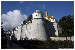 | Church of the Elevation of the Cross (Dit is Suzanne) Tags: ukraine unescoworldheritagesite monastery kiev kyiv  klooster     kievpechersklavra  cavemonastery oekrane views150 ditissuzanne canoneos40d img8962 tamron28200mm13856  churchoftheelevationofthecross ischias unescowerelderfgoedlijst holenklooster 30092009    geo:lat=50433571 geo:lon=30563584