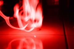 (Fiona Tsoa) Tags: red fire  holga135