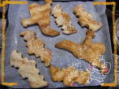 Halloween dietary cookie (borometz) Tags: food halloween cookie ghost bat  lowcal healty  dietary