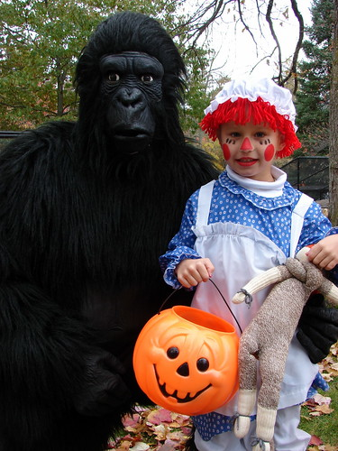 Gorilla and Zoey