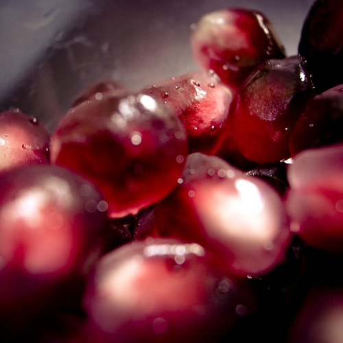 Pomegranate Succlulent Arils in a Bowl II