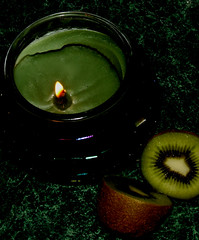 Candles and fruit 002 (Wendyj489) Tags: fruit candles wendys