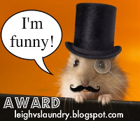 funny blogger award