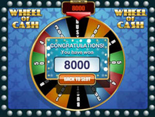 free Wheel of Cash slot bonus feature