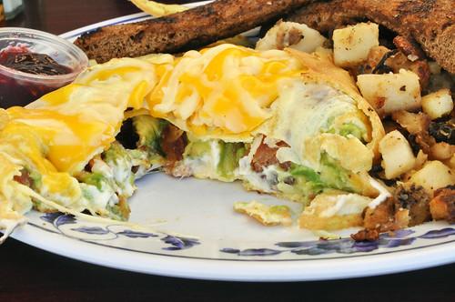 Inside Omelette