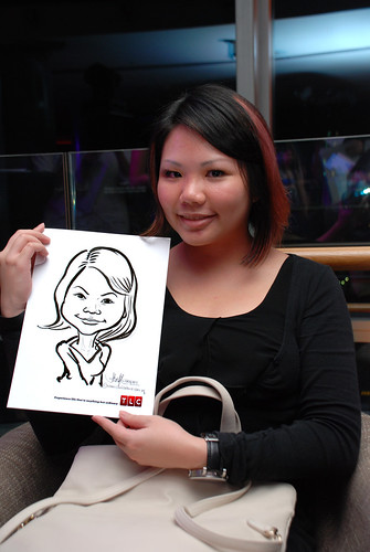 Caricature live sketching for TLC - 38