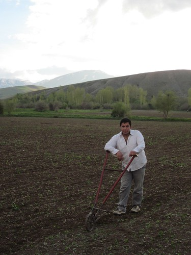 To the places where the earth is tilled by hand!