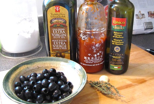 Homemade Marinated Olives