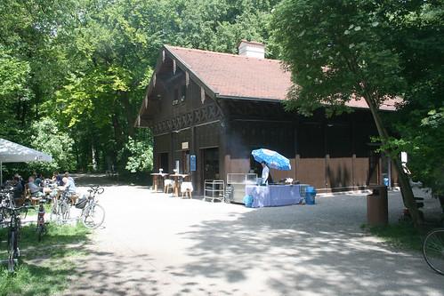Biergarten am Flaucherwehr