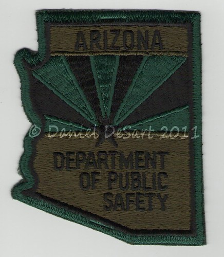 Arizona Department of Public Safety Subdued (Old Style)