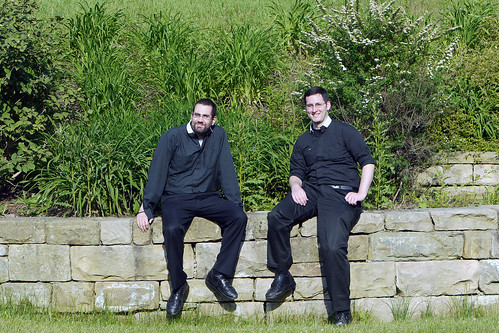 Father Josh and Brother Dennis