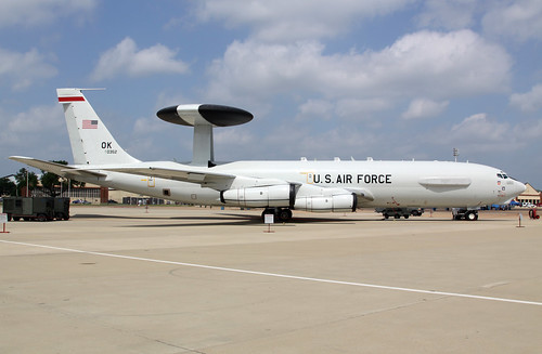 Boeing E-3B Sentry - 77-0352, 552nd Airborne Warning and Control Wing at KBAD par E-Mans av8pix.com