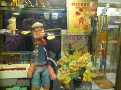 Popeye et Mickey et les autres