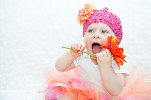 Props vs. teething baby
