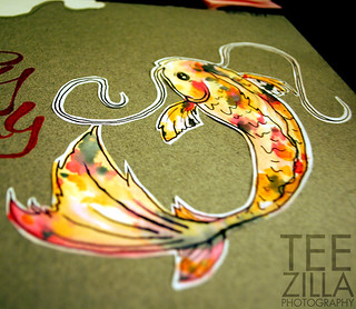 Koi Fish Water Color