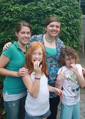 Katie, Tiffany, Em and Maddie