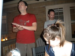 Memorial Day Eve Bar-B-Que 2009 (S.S.Poseidon) Tags: bbq dougc mikeyv paigeh