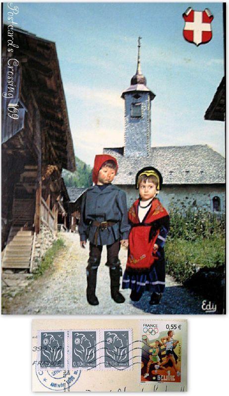 Postcard Friendship Friday 013_Urvillers, France