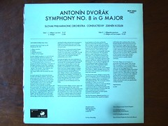 Backside Dvorak - Symphony No.8 op.88 - Slovak Phil. Orch., Zdenek Kosler, ROY2003 (Piano Piano!) Tags: classic rock vintage disco concert 60s inch long play 33 album vinyl piano hans jazz recital concerto collection cover 80s soul lp record 70s classical 50s 12 disc konzert 13 platte sleeve recording hoes gramophone 12inch thijs 3313 disque hansthijs klassiek plaat 10inch 33t opname grammofoon langspeelplaat langspielplatte 121010 aufname gramofoon dvoraksymphonyno8op88slovakphilorch zdenekkosler roy2003