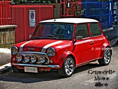 Mini Cooper (gilmolm) Tags: show red italy rome roma car photoshop canon automobile italia minicooper motor 1001nights macchina hdr motorshow photomatix centocelle beautifulphoto photographyrocks worldcars infinestyle theperfectphotographer spiritofphotography hdraward canonpowershotsx110is freedancephotographers centocellemotorshow