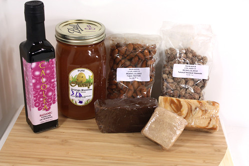 vinegar honey almonds fudge