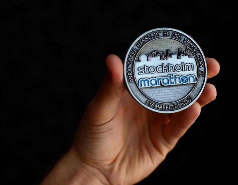 Stockholm Marathon 2009 Medal