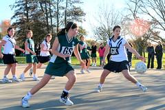 loose ball (go wild - NZ outside) Tags: new girls christchurch girl sport st andrews zealand nz grading burnside netball hagley y10