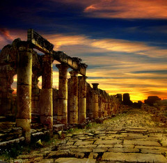 (digitalpsam) Tags: sky lebanon beautiful wonderful spectacular ancient ruins scenery mediterranean colours roman middleeast serene lebanese heavenly tyre  100commentgroup vosplusbellesphotos artofimages freedancephotographers bestcapturesaoi obramaestra sammatta