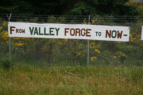 From Valley Forge to Now -