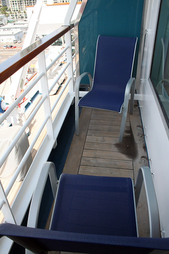 Carnival Elation - Verandah Demi-suite Balcony