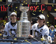 Marc-André Fleury, the Stanley Cup, and Sidney...