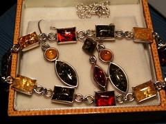 amber (pamelaadam) Tags: winter macro closeup digital scotland amber mine december fotolog aberdeen bangle earrings 2007 jewellry necklance thebiggestgoup