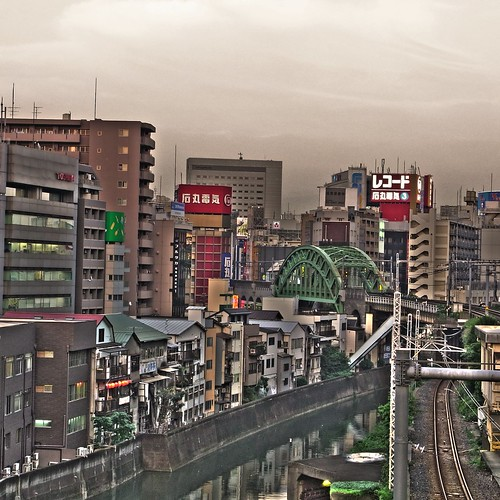 Direction of Akihabara from Hijiribashi bridge
