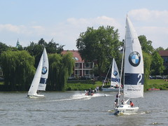 BMW Sailing Cup (Julietta Peggy-Razzi) Tags: mnster segelboot aasee bmwsailingcup