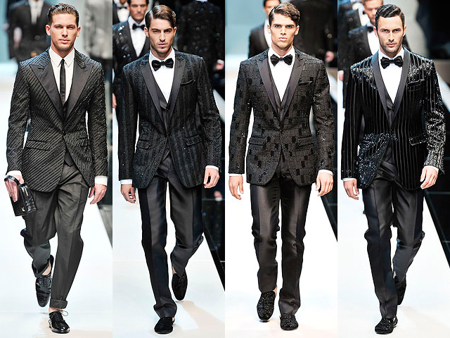 geometric patterns black and white. The lack tuxedos line up the