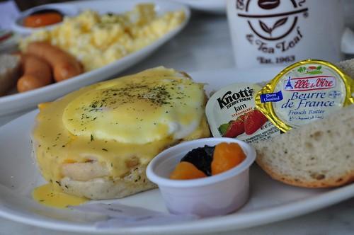 Eggs Ben Breakfast Coffee Bean and Tea Leaf